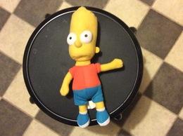 PELUCHE Bart Simpson   THÉ SIMPSON  2005 - Peluches