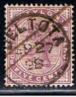 CEY 34 // Y&T 107 // 1886 - Ceylon (...-1947)