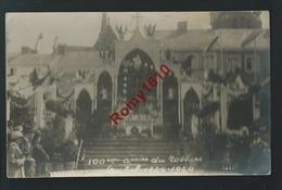AUBEL - Photo Carte Animée. 100e Aniiversaire Rosaire. 1924.  Scan Recto/verso. - Aubel