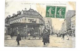75/ PARIS.. 75014 PARIS XIVe.. Le Puits Rouge. Avenues De Châtillon Et D'Orléans... 2 Scans - Arrondissement: 14