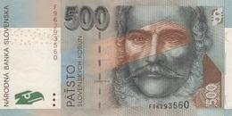 (B0211) SLOVAKIA, 2006. 500 Korun. P-46. VF - Slovakia
