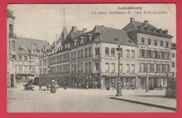 Luxembourg - Der Wilhelmsplatz - Magasin Warenhaus -M.Knopp  - 1912 ( Voir Verso ) - Luxemburgo - Ciudad