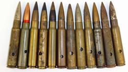 Lot De Cartouches Diverses 7.92 Mauser  - Neutralisées - Militaria