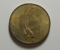 Slovenia 5 Tolarjev 1993 - Slovénie