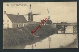LOO. Canal, Pont Et Moulin. - Lo-Reninge