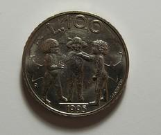 San Marino 100 Lire 1995 Varnished - San Marino