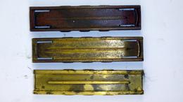 Lot De 3 Lames-chargeur Vides 7.92 Mauser - Militaria