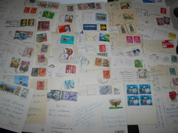 Collection , Europe 50 Cartes Postales - Francobolli