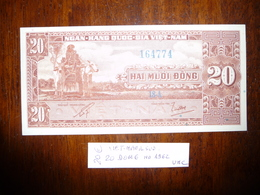 VIET-NAM Du SUD 20 DONG   Nd 1962  NEUF - Vietnam