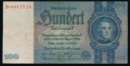 100 REICHSBANKNOTE 1933  2 SCANS - [ 3] 1918-1933 : Repubblica  Di Weimar