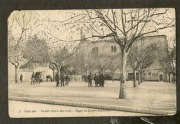 CP-TOULON-VAR - Saint-Jean-du-Var - Place Du Quatre Septembre - Toulon