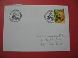 Lettre  1999  - Journée Du Timbre - Astérix - Commemorative Postmarks