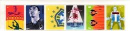 FRANCE BRESIL Bande  De 6 Timbres Neufs ROMARIO Football Calcio Soccer Fussball Keller Casiraghi BS 911 - Commemorative Labels