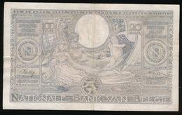 100 FRANCS 2O BELGAS   16.07.42  2 SCANS - [ 2] 1831-... : Royaume De Belgique