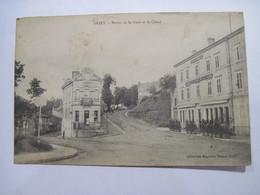 CPA 54 BRIEY Sortie De La Gare Et Le Cloué 1920 TBE - Briey
