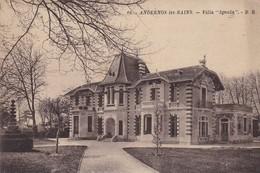 "33. ANDERNOS LES BAINS  .CPA.  VILLA "" IGNOLA "". ANNEE 1931 + TEXTE - Andernos-les-Bains"