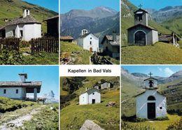 1 AK Schweiz * Kapellen In Vals - Vals - Vale, Leis, Peil, Zervreila, Soladüra, Frunt - Kanton Graubünden * - GR Grisons