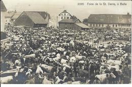 Foire De La Saint Denis à Bulle (2085) - Carte Photo - FR Fribourg