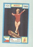 VERA CASLAVKA....GINNASTICA....GIMNSTICS....TURNEN.....GYMNASTIQUE - Gymnastique