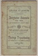 Palmares  Sint-Jozefscollege Turnhout, 1919 - Diplômes & Bulletins Scolaires