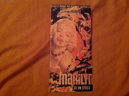 Marilyn Monroe, Carte D'invitation Pour L'exposition Mimmo Rotella - Pubblicitari