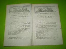 Bulletin Des Lois An X : Proclamation Sur La Paix Générale Par Napoleon Bonaparte 1er Consul De La République - Décrets & Lois