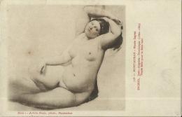 CPA Tableau De Nu - Montauban - Musée Ingres - Etude Faite Pour Le Bain Turc. - Tableaux