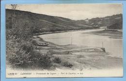 Lannion (22) Promenade Du Leguer Port De Loguivy 2 Scans 07-08-1918 Barque - Lannion