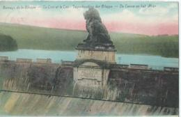 Gileppe - Barrage De La Gileppe - Le Lion Et Le Lac - Tegenhouding Der Gileppe - De Leeuw En Het Meer - Gileppe (Stuwdam)