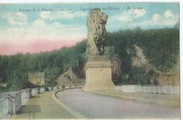 Gileppe - Barrage De La Gileppe - Le Lion - Tegenhouding Der Gileppe - De Leeuw - 1928 - Gileppe (Stuwdam)