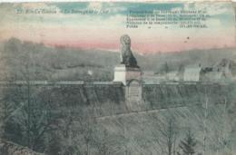 Gileppe - 22. B - Le Barrage Et Le Lion - 1926 - Gileppe (Stuwdam)