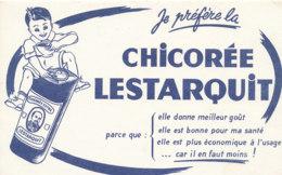 BU 1601 -/  BUVARD    CHICOREE  LESTARQUIT - Café & Thé