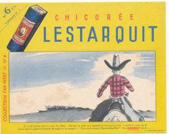 BU 1602 -/  BUVARD    CHICOREE  LESTARQUIT - Café & Thé