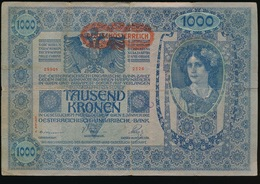 TAUSEND KRONEN 1902   2 SCANS - Oesterreich