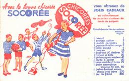 BU 1608-/  BUVARD    CHICOREE   SOCOREE - Café & Thé