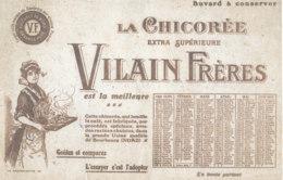 BU 1610-/  BUVARD    CHICOREE    VILAIN FRERES    BOURBOURG  NORD - Café & Thé