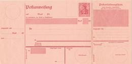 Deutsches Reich  -  1910  ,  Postanweisung - Alemania