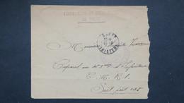 Lettre Avec Griffe Linéaire Torpilleurs Et Sous Marins De Brest Sur Lettre  Pour Le SP 125 - Postmark Collection (Covers)