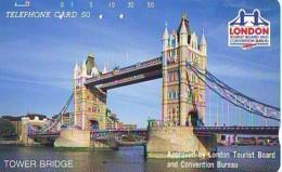 Télécarte Japon ANGLETERRE (296) GREAT BRITAIN Related * ENGLAND Phonecard Japan * TOWER BRIDGE * LONDON - Landscapes
