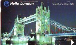 Télécarte Japon ANGLETERRE (300) GREAT BRITAIN Related * ENGLAND Phonecard Japan * TOWER BRIDGE * LONDON - Paisajes