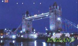 Télécarte Japon ANGLETERRE (301) GREAT BRITAIN Related * ENGLAND Phonecard Japan * TOWER BRIDGE * LONDON - Paysages