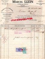BELGIQUE- AISEAU PRES CHARLEROI- FACTURE MARCEL LIZIN- FONDERIE ART ET ORNEMENT-FONTE- FONTES- 1922 - Old Professions