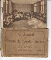 Rollegem - Rolleghem - Carnet De 10 Cartes Anciennes Pensionnat Soeurs Sainte Thérèse (Courtrai - Mouscron) - Kortrijk