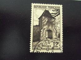 """1952   -timbre Oblitéré N°  921   """"   Vaucouleur   """"    Côte    1.25          Net      0.40 - Frankreich"""