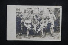 MILITARIA - Carte Postale Photo - Groupe De Soldats - L 22059 - Guerre 1914-18