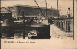 Bruxelles : L'Entrepôt Et Les Bassins - Maritime