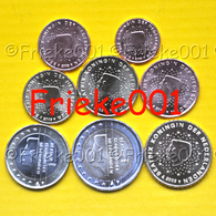 Nederland - Pays-Bas - 1 Cent Tot 2 Euro Unc 2003. - Pays-Bas