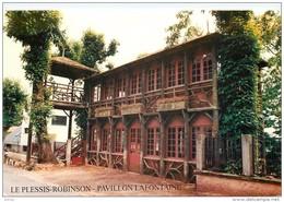 Photo Cpsm Cpm 92 LE PLESSIS-ROBINSON. Pavillon Lafontaine. 4° Bourse Cartes Postales Et Timbres - Le Plessis Robinson