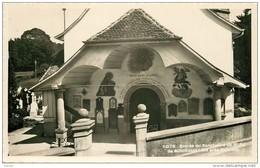 Photo Cpsm Suisse. FRIBOURG. Sanctuaire Notre Dame De Bourguillon - FR Fribourg