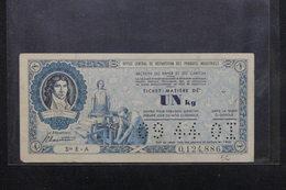 TITRE DE RÉPARTITION - Ticket - Matière De 1 Kg - Section Du Papier Et Du Carton - L 22060 - Andere